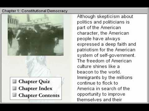 Constitutional Democracy (Government By The People Part 1)