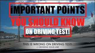 IMPORTANT POINTS TO PASS ON DRIVING TEST AUSTRALIA (Sony Action Cam Dash Cam)