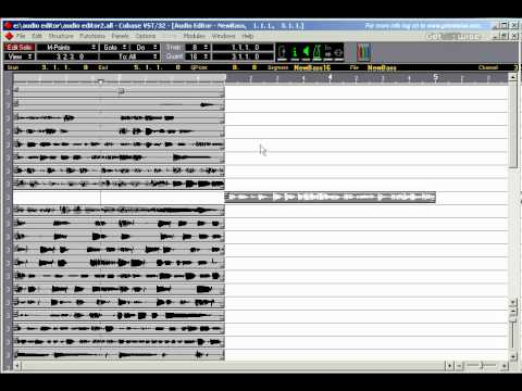 steinberg audio editor