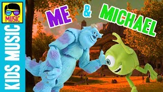 Me and Michael MGMT parody FOR KIDS   MONSTERS INC. Monsters University Sully & Mike Wazowski Song