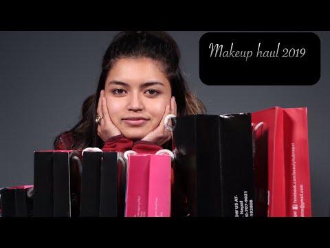 MAKEUP HAUL | Sushma Karki | Ksuskalology | First Makeup Haul Of 2019