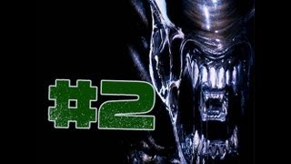 Aliens Vs Predator 2 (Alien Campaign) Gameplay Walkthrough Part 2- Chestburster!