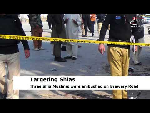 Three Shia Muslims injured due to firing by ASWJ terrorists in Quetta