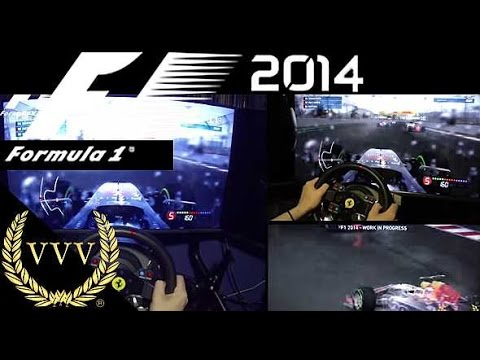 F1 2014 Preview part 3 Sochi Wet Weather