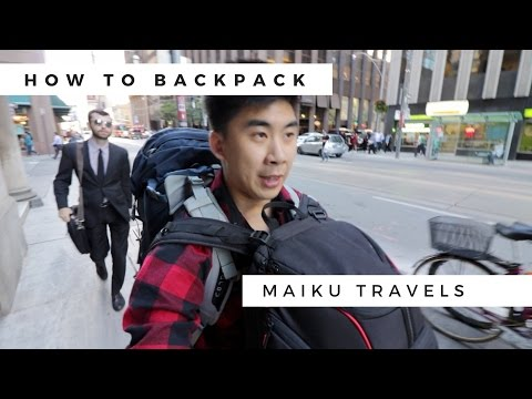 HOW TO PACK FOR LONGTERM TRAVEL