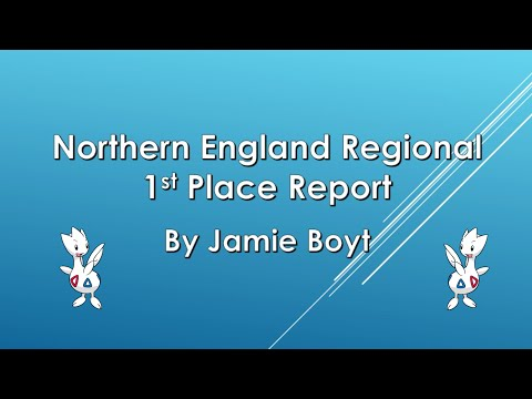 Northern England Regional 1st Place Team Report