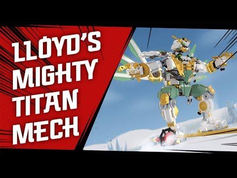 Lloyd's Titan Mech Vs. General Vex – Epic Ninja Battle!