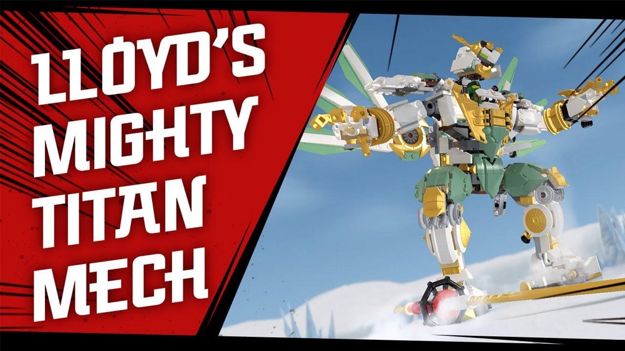 Lego Ninjago 70676 Lloyd S Titan Mech Lego Building Kit Alza Co Uk