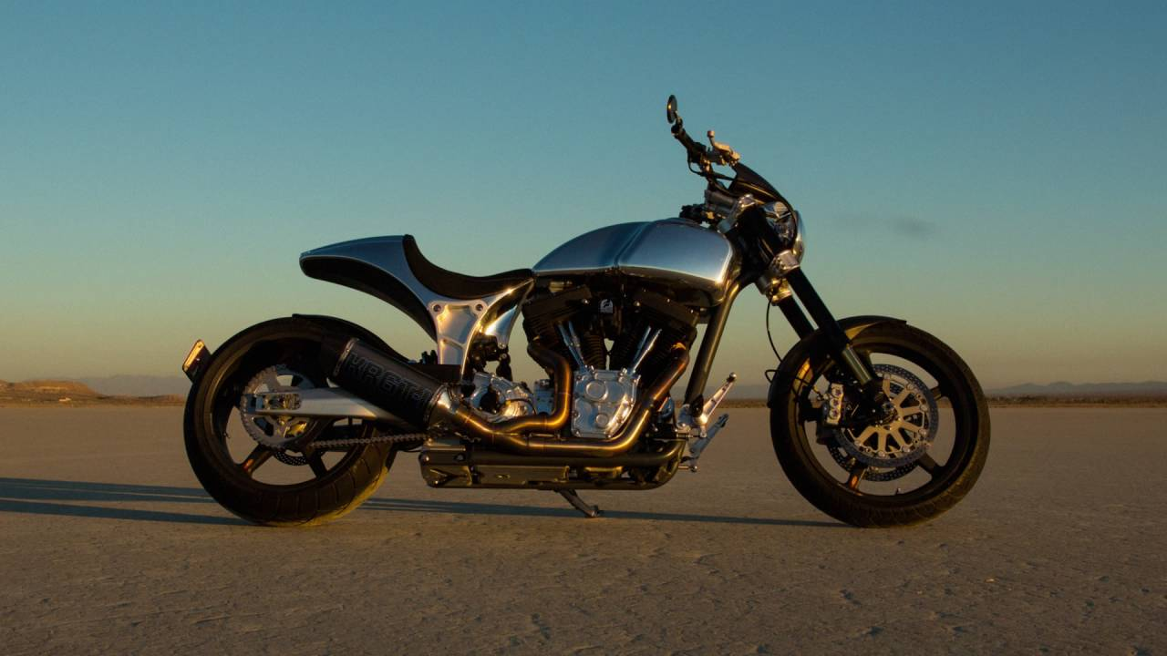 Arch Motorcycle Company Krgt 1 Time Lapse Commercial Doovi
