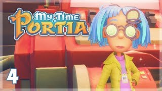 The Research Disc Dilemma! | My Time at Portia Let's Play - Episode 4
