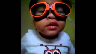 Video lucu anak belajar membaca al fatihah
