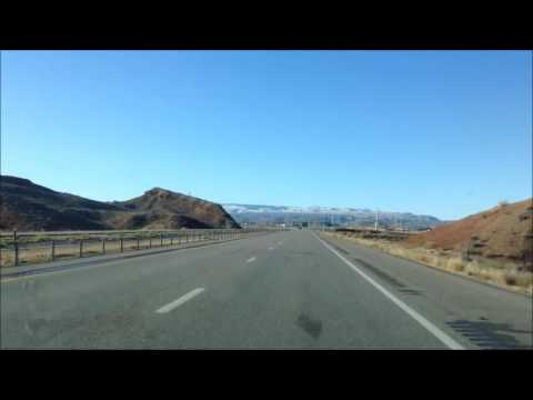 Drive from St George, Utah to Mesquite, Nevada; Hwy 15