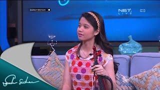 Clarissa Memecahkan Rekor Dunia Bermain Violin Saat Berusia 14 Tahun