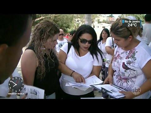 Família faz buscas para tentar encontrar criança desaparecida no RS | SBT Brasil (17/03/18)