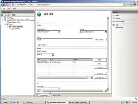 Create SEO-Friendly URLs with the IIS7 UrlRewrite Module