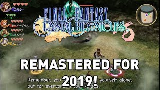 Final Fantasy Crystal Chronicles REMASTERED Coming 2019!