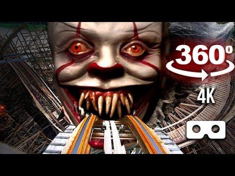 360 Video VR Roller Coaster Amusement Ride 4K