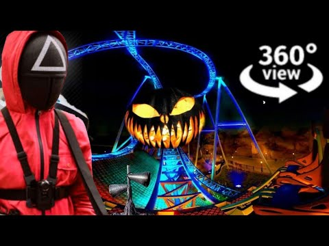 360 Video VR Roller Coaster Amusement Ride 4K