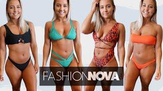 HUGE Swimwear Haul From Fashion Nova