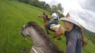 Epic horse galloping with GoPro by Kristy.M Ranch