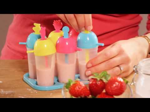 Yeo Valley - Mixed Berry Yogurt Lollies (frozen)