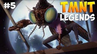 черепашки-Ниндзя: Легенды. Прохождение (TMNT Legends IOS Gameplay 2016)