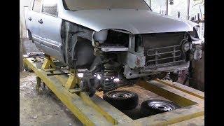 Chevrolet Niva, «Нива Шевроле» часть 4. Ремонт заднего фартука с усилителями
