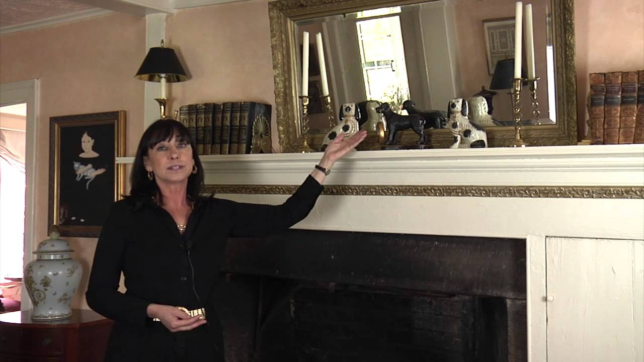 How To Decorate A Mantel With A Mirror Home Accessories