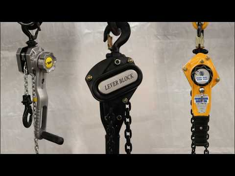 How To Use A Lever Hoist - Lifting Gear Direct