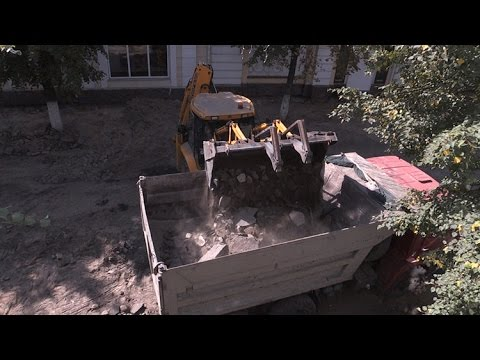 У Житомирі через реконструкцію перекрили частину вулиці Михайлівської