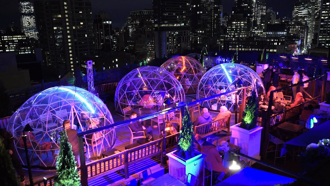 230 Fifth S Rooftop Igloos Youtube