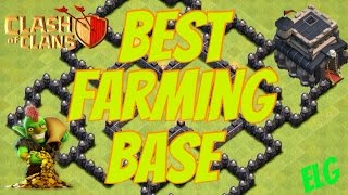 Clash Of Clans Best Town Hall Level 9 Farming Base! Get Rich And Stay Rich!