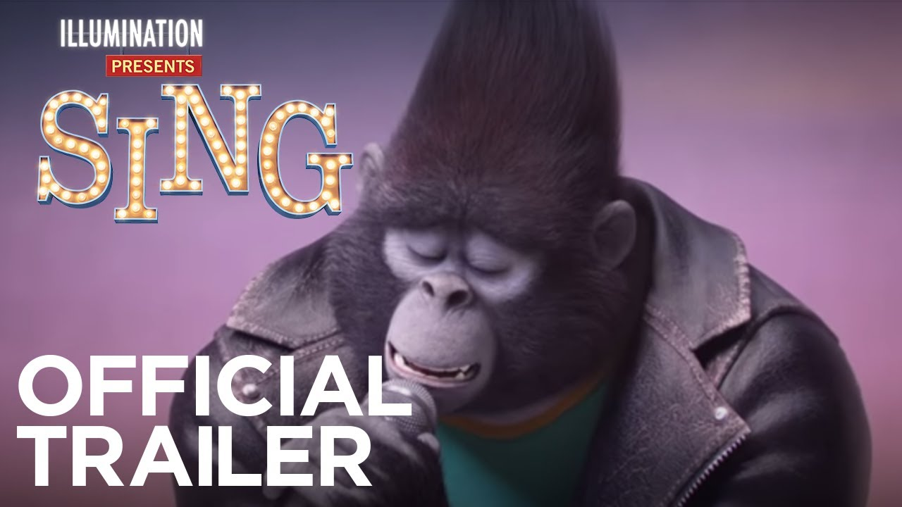 Sing - In Theaters This Christmas - Official Trailer #2 (HD) - YouTube