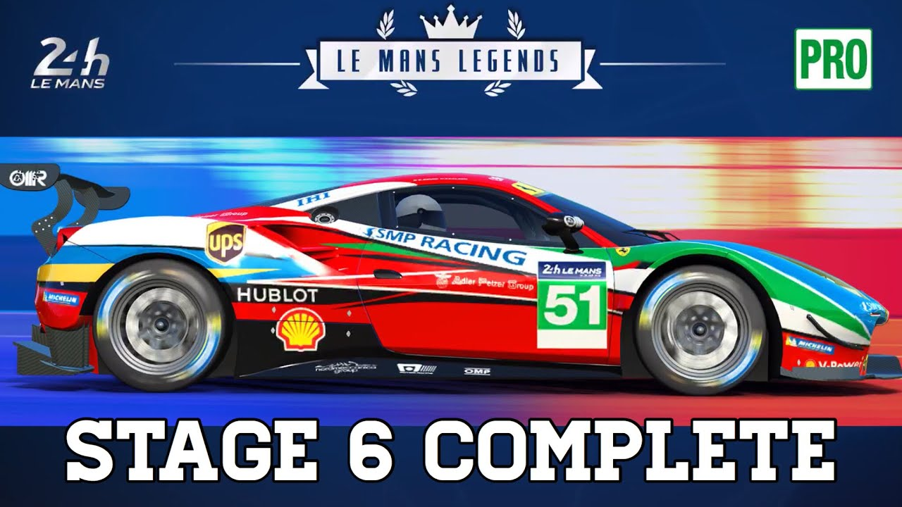 d6503ea62d8 Real Racing 3 Le Mans Legends Stage 6 Upgrades 2222121 - 40 Gold Ferrari  488 GTE RR3
