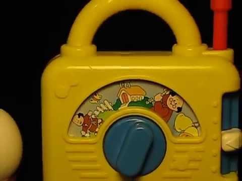 Music box for kids (Fisher Price radio) series