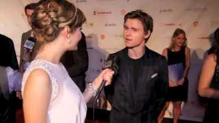 KATIE CHATS: tiff PRODUCERS BALL, CALLAN MCAULIFFE, ACTOR, BENEATH THE HARVEST SKY - tiff 2013