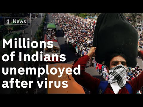Coronavirus lockdown leaves millions of Indian workers unemployed