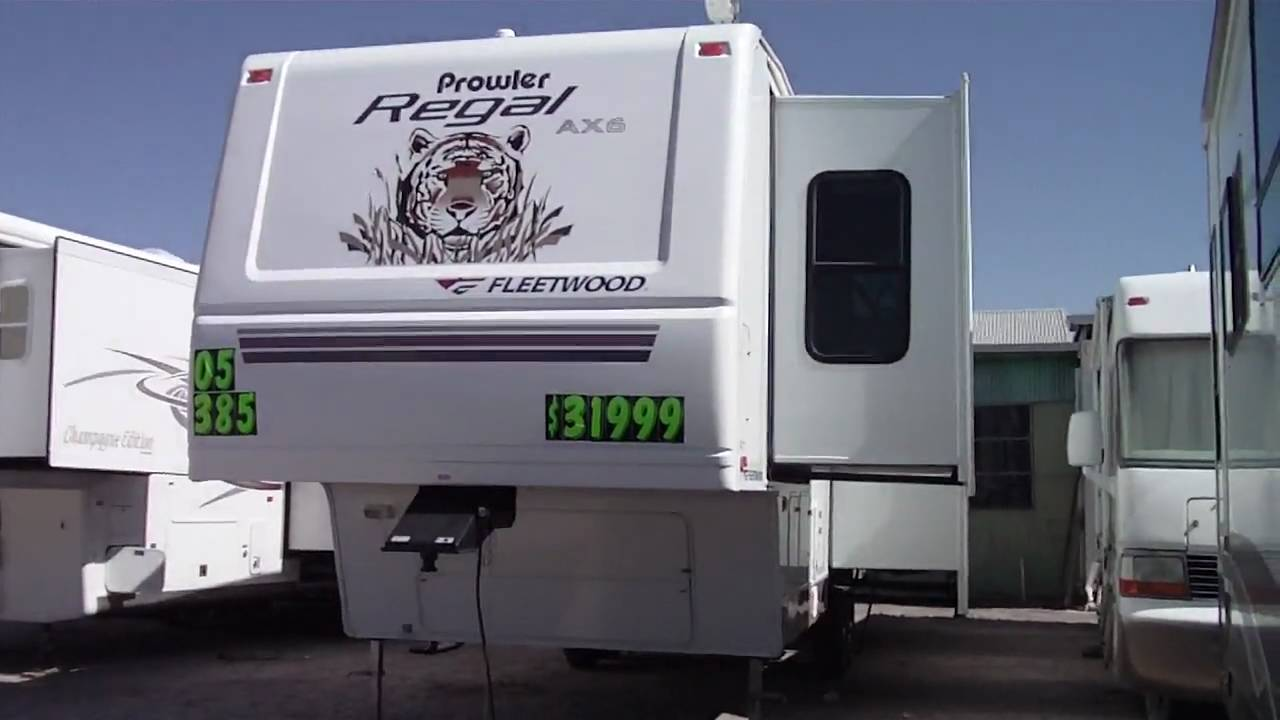 2005 Prowler Regal Ax6 358fk 5th Wheel For Sale Nelson