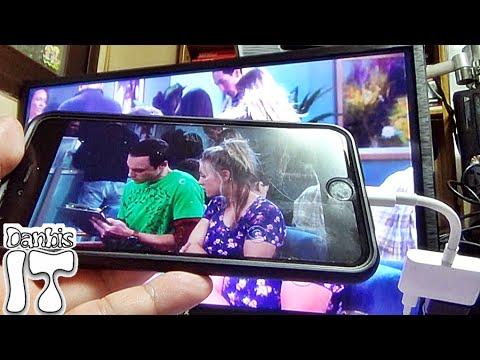 아이폰 라이트닝 케이블 사용방법, hdmi케이블로 TV와 연결하는 젠더 사용기 리뷰