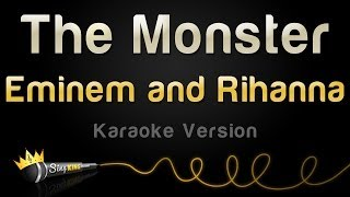 Eminem and Rihanna - The Monster (Karaoke Version)