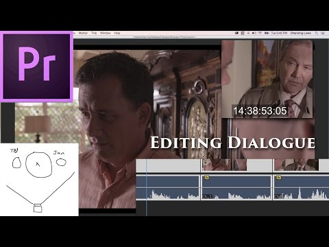 Episode 33 - Editing Dialogue - Tutorial for Adobe Premiere Pro CC 2015
