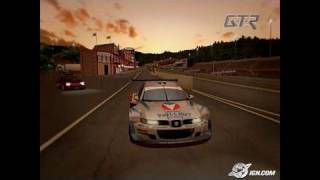 GTR FIA Racing PC Games Gameplay - Proximus 24 Hours of Spa!