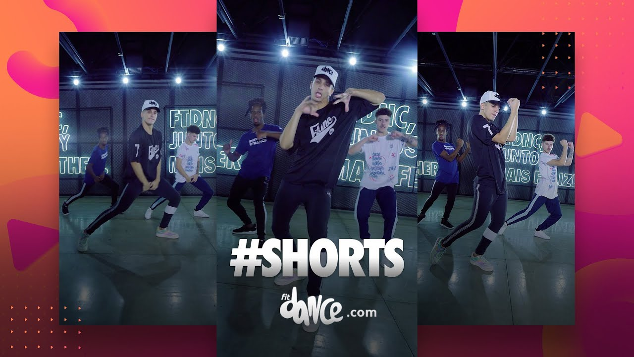 Youtube #Shorts - Inesquecível - Souanna & Spvic | FitDance (Coreografia)