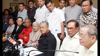 FULL PC: Tun M holds PC after PH presidential council meeting
