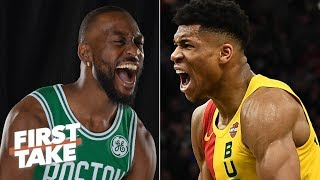 Download Can Kemba Walker and Jayson Tatum lead the Celtics past the Bucks and 76ers? | First Take Mp3 and Videos