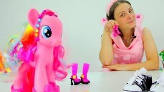 Видео для девочек. Фея и туфельки для Пинки Пай
