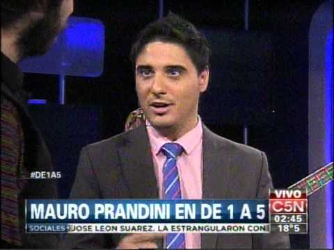 C5N – MUSICA: MAURO PRANDINI EN DE 1 A 5 (PARTE 1)