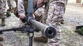 Marines & Machine Guns • M2 Browning .50 Cal Live Fire