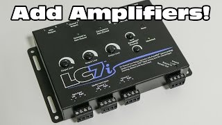 Add Amplifiers to a Factory Audio System - AudioControl LC7i Line Output Converter