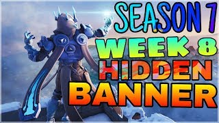 Find Secret Banner From Loading Screen | Week 8 Season 7 Location | Fortnite Battle Royale